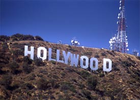 The Hollywood Sign in Las Angeles