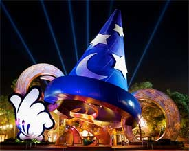 Hollywood Studio's Sorcerer's Hat!