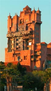 Hollywood Studio's Tower of Terror